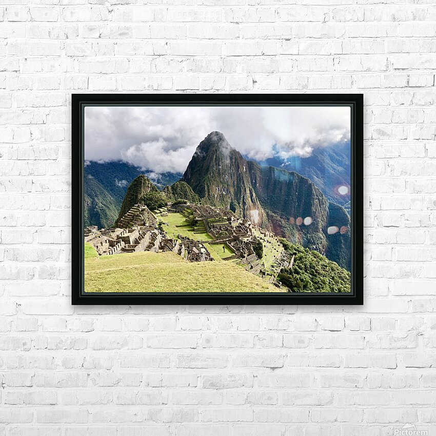 The Lost Citadel HD Sublimation Metal print with Decorating Float Frame (BOX)