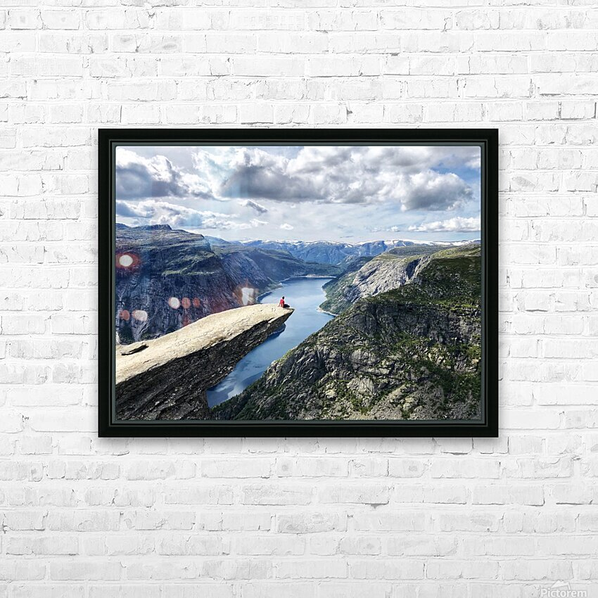 The Trolls Tongue HD Sublimation Metal print with Decorating Float Frame (BOX)