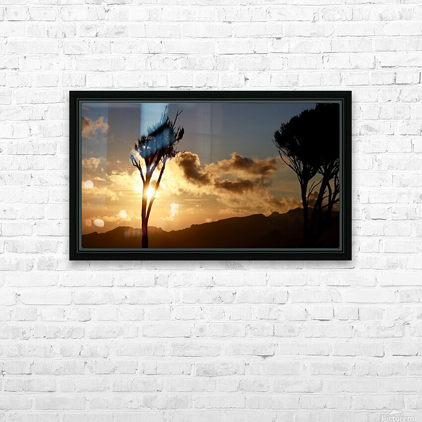 Wakanda Sunset HD Sublimation Metal print with Decorating Float Frame (BOX)