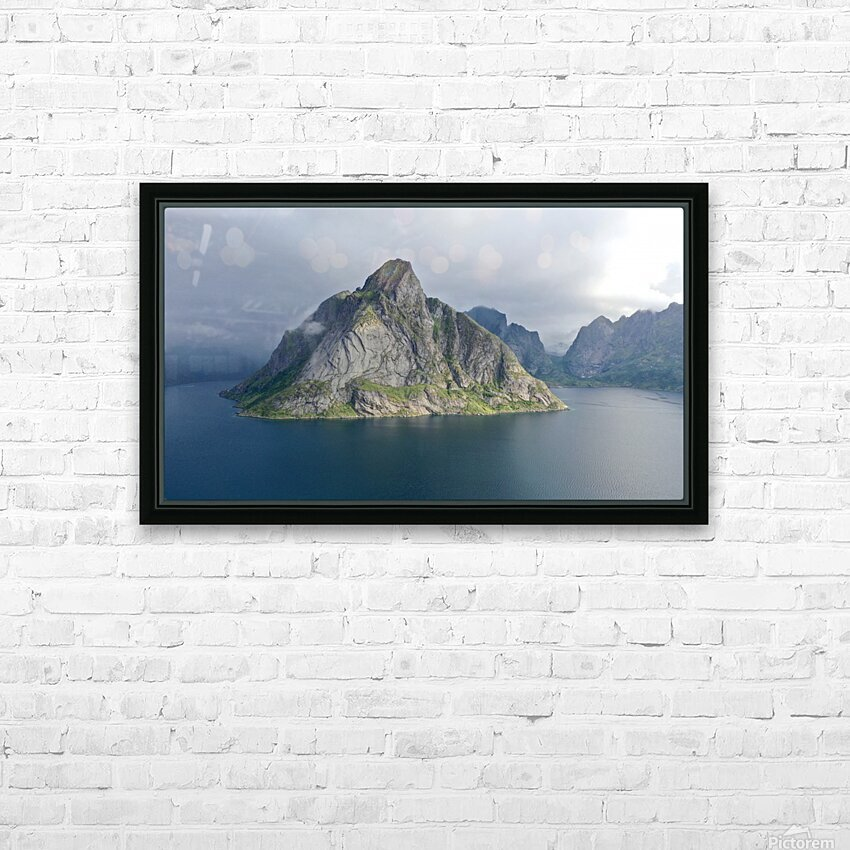 Lofoten 1 HD Sublimation Metal print with Decorating Float Frame (BOX)