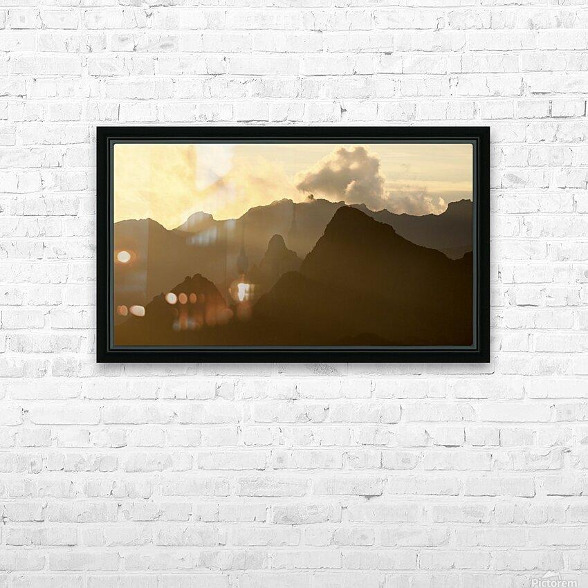 Kilimanjaro at Dusk HD Sublimation Metal print with Decorating Float Frame (BOX)