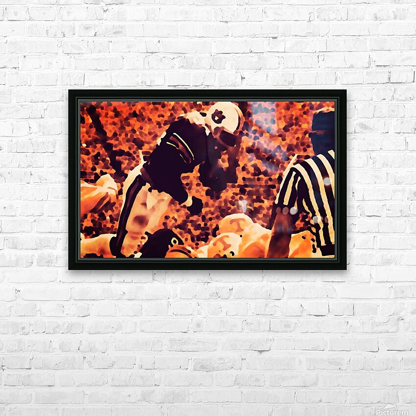 1982 Bo Jackson Tennessee Dive HD Sublimation Metal print with Decorating Float Frame (BOX)