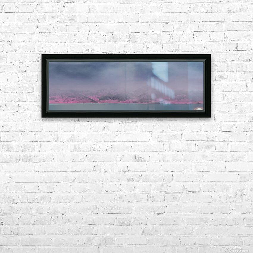 Color change HD Sublimation Metal print with Decorating Float Frame (BOX)