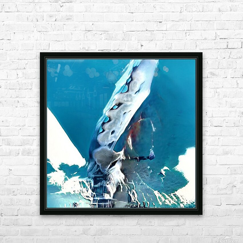 Composicion101 HD Sublimation Metal print with Decorating Float Frame (BOX)