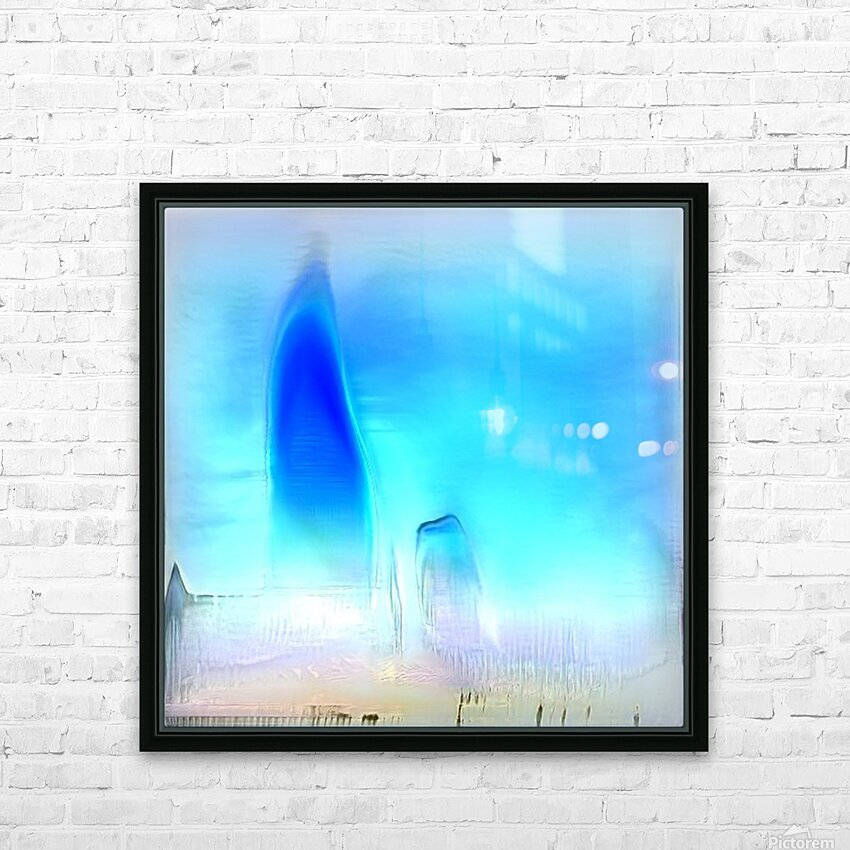 Composicion100 HD Sublimation Metal print with Decorating Float Frame (BOX)