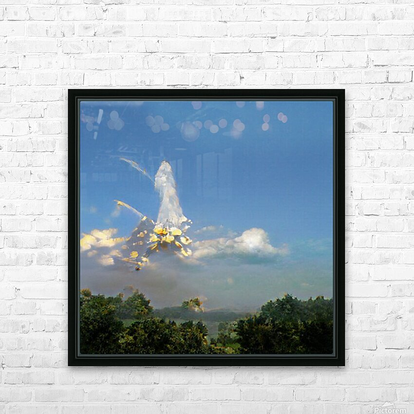 Composicion10041 HD Sublimation Metal print with Decorating Float Frame (BOX)