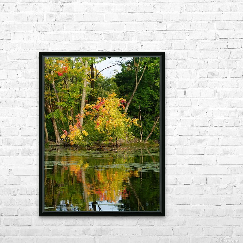 Automne HD Sublimation Metal print with Decorating Float Frame (BOX)