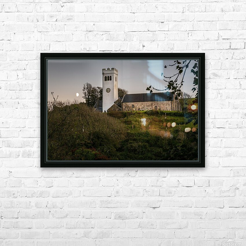 St Jamess Church in Manorbier HD Sublimation Metal print with Decorating Float Frame (BOX)