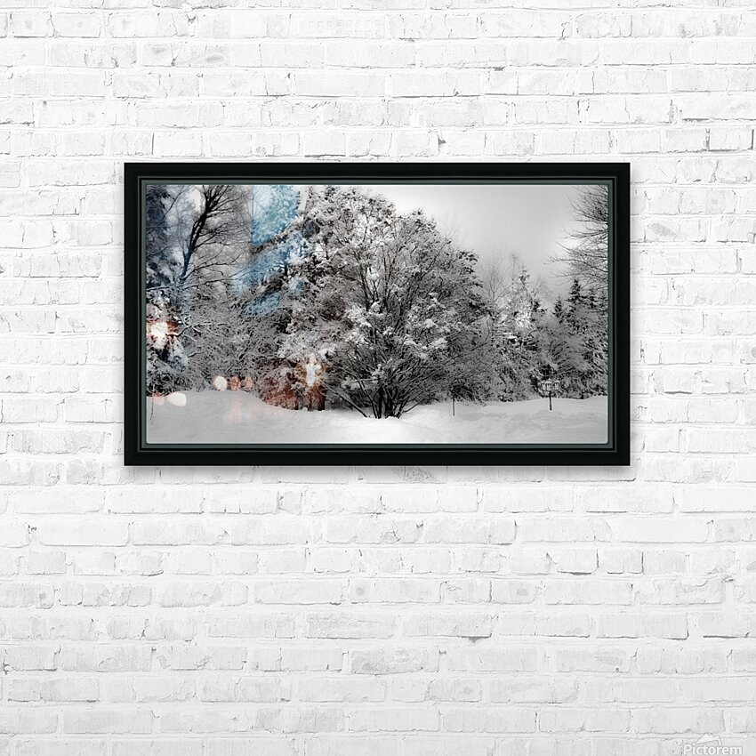 Obscure HD Sublimation Metal print with Decorating Float Frame (BOX)