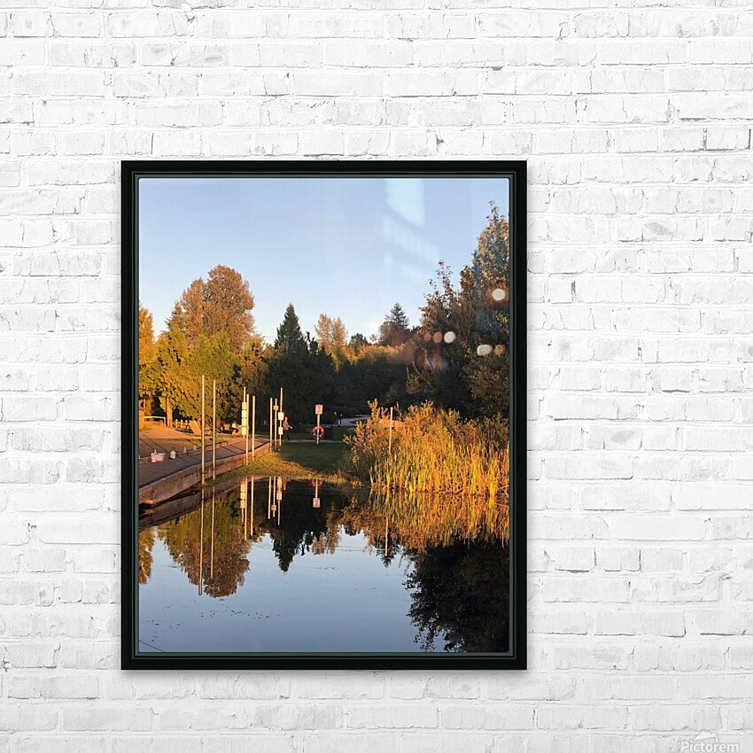 image HD Sublimation Metal print with Decorating Float Frame (BOX)