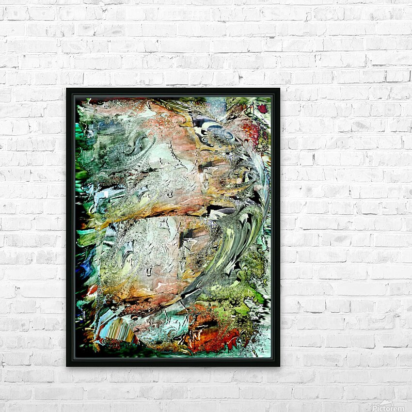 Wanderlust HD Sublimation Metal print with Decorating Float Frame (BOX)