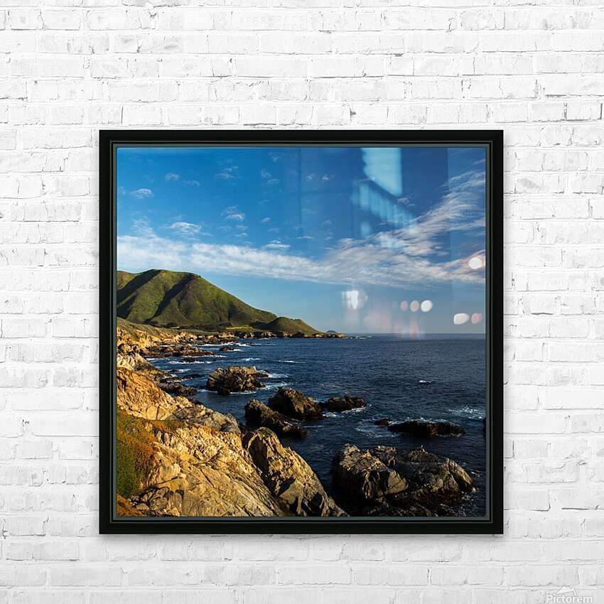 Sleeping Bear HD Sublimation Metal print with Decorating Float Frame (BOX)