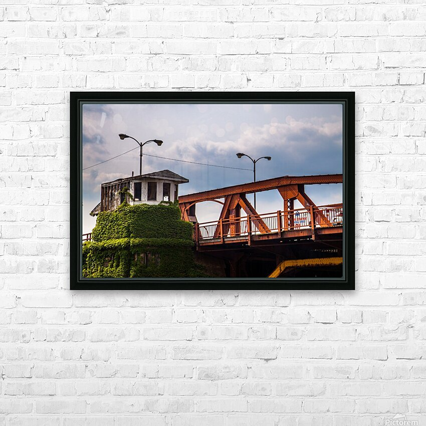 Chicago HD Sublimation Metal print with Decorating Float Frame (BOX)