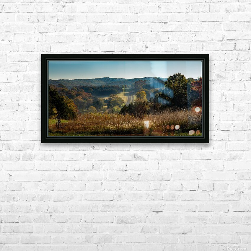 Missouri Morning HD Sublimation Metal print with Decorating Float Frame (BOX)