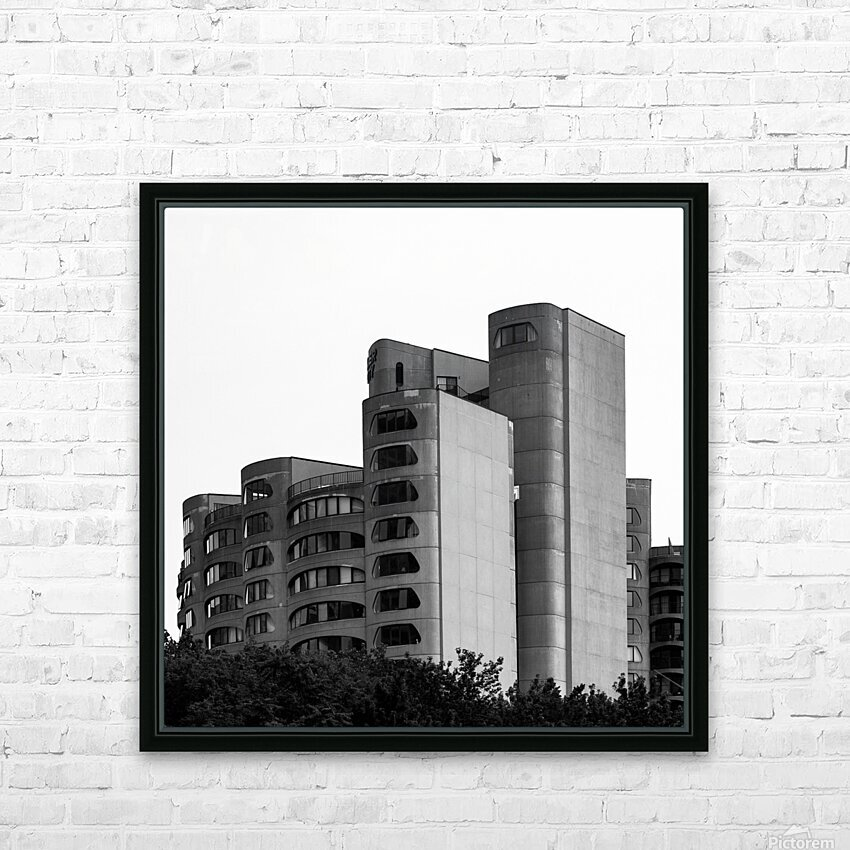 Architect HD Sublimation Metal print with Decorating Float Frame (BOX)