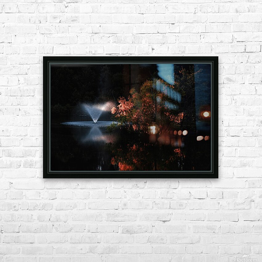 Alternate Moments HD Sublimation Metal print with Decorating Float Frame (BOX)