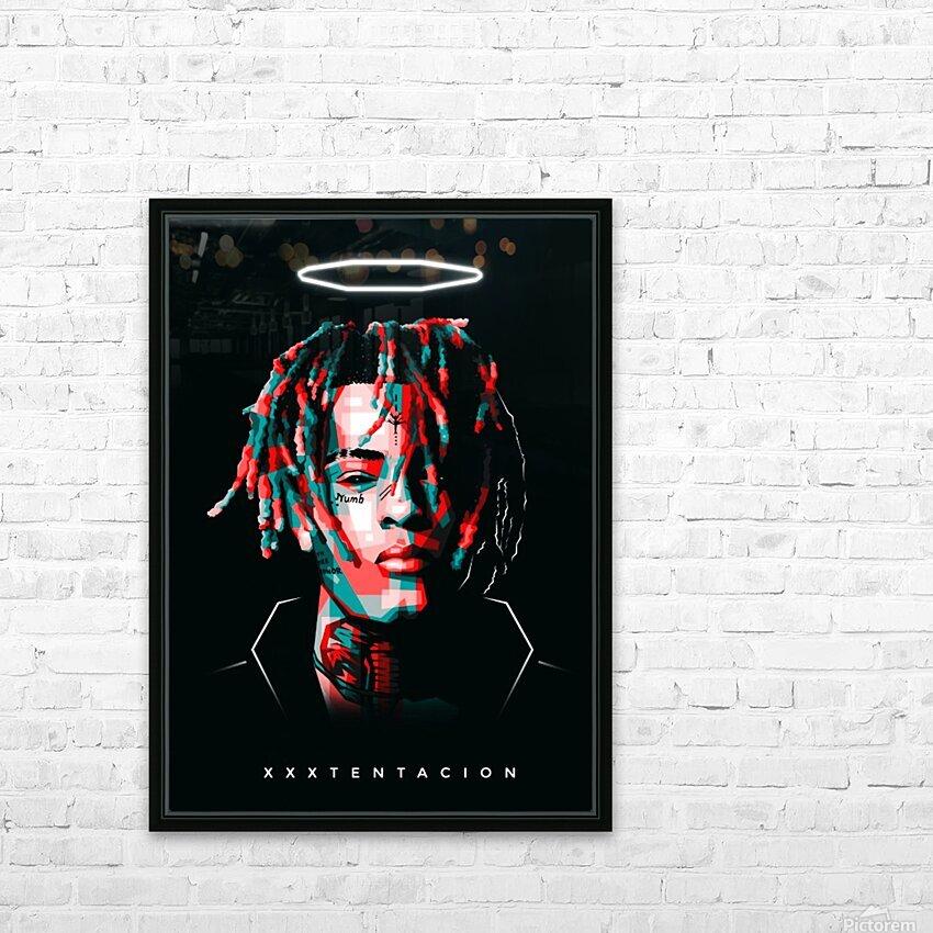 xxxtentacion HD Sublimation Metal print with Decorating Float Frame (BOX)