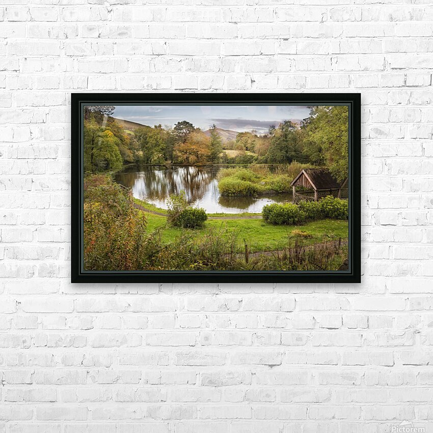 Craig-y-Nos Country park HD Sublimation Metal print with Decorating Float Frame (BOX)