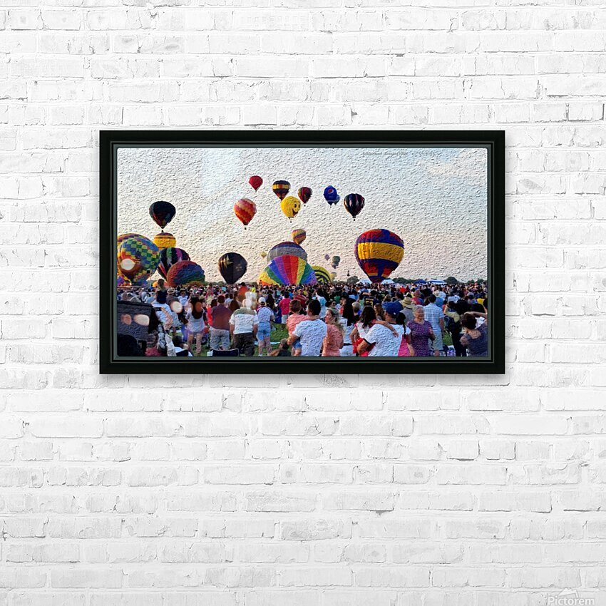 BalloonDay p HD Sublimation Metal print with Decorating Float Frame (BOX)