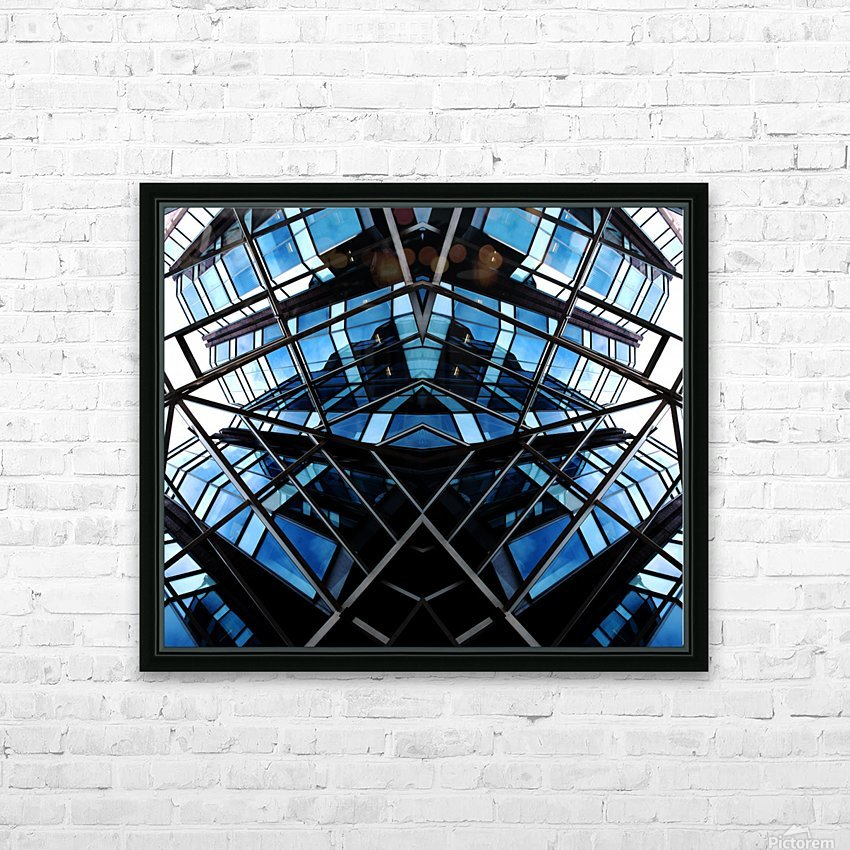 STEALTH HD Sublimation Metal print with Decorating Float Frame (BOX)