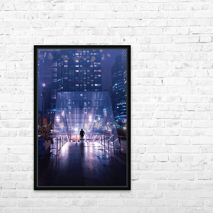 Caught In The Middle HD Sublimation Metal print with Decorating Float Frame (BOX)