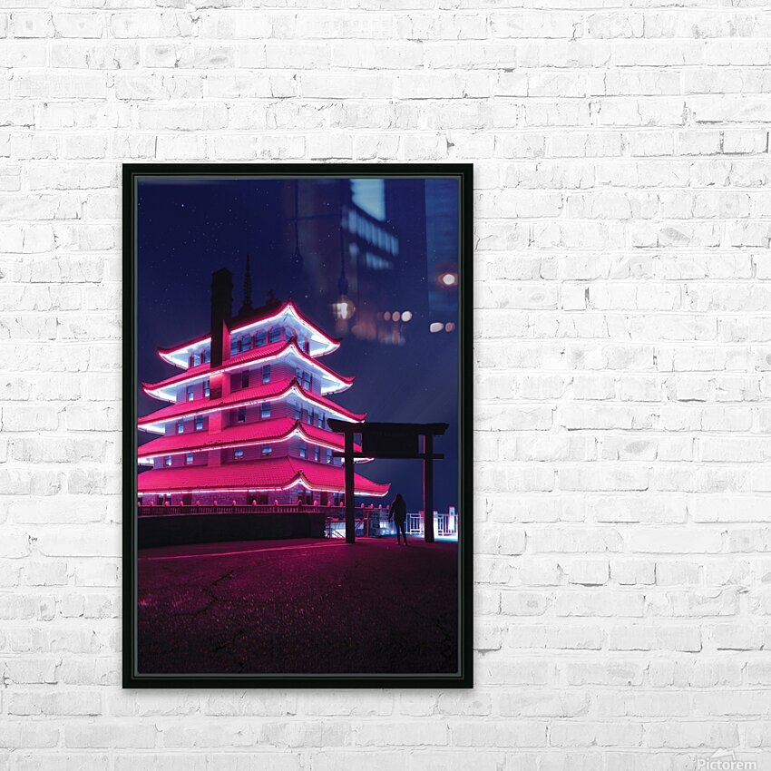Awakening HD Sublimation Metal print with Decorating Float Frame (BOX)