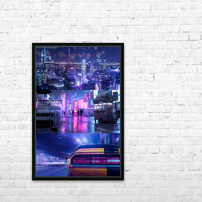Oblivion City HD Sublimation Metal print with Decorating Float Frame (BOX)