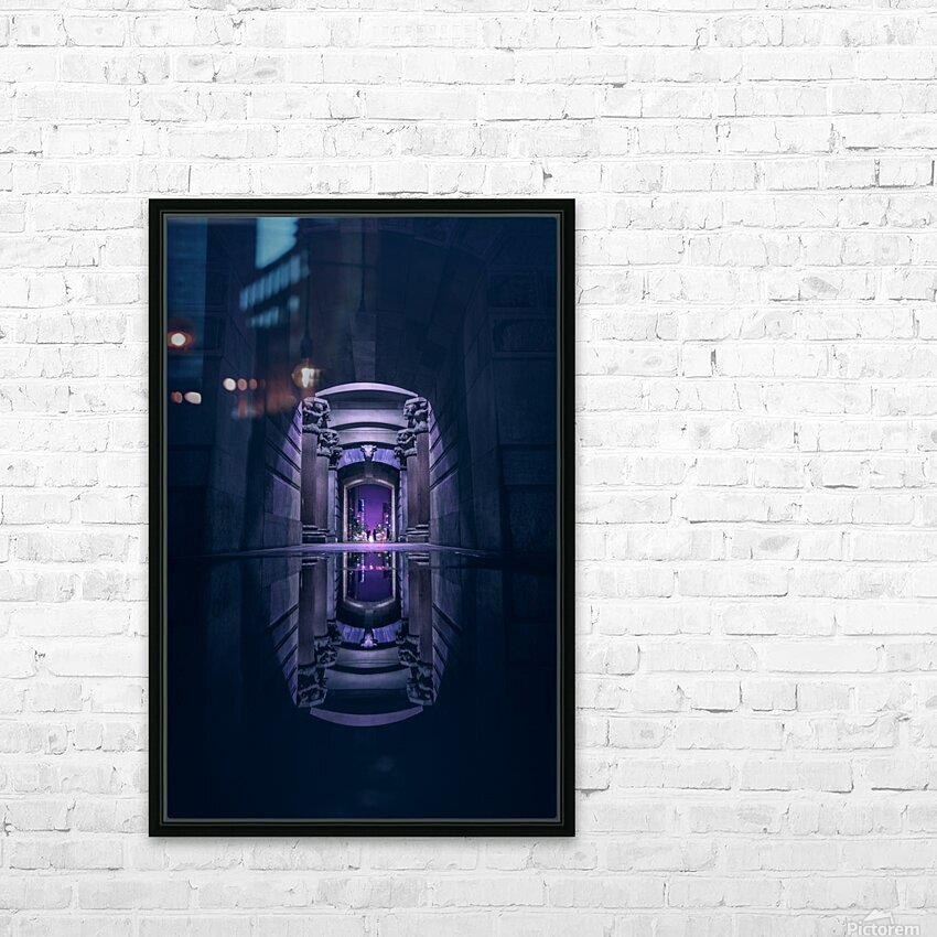 Ancient Generation HD Sublimation Metal print with Decorating Float Frame (BOX)