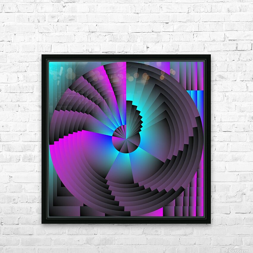 A.P.Polo - Murex HD Sublimation Metal print with Decorating Float Frame (BOX)