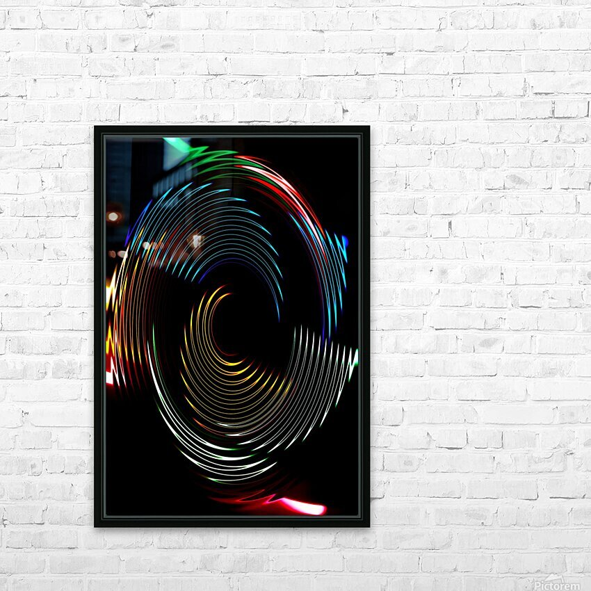 CYCLONE DREAMS HD Sublimation Metal print with Decorating Float Frame (BOX)
