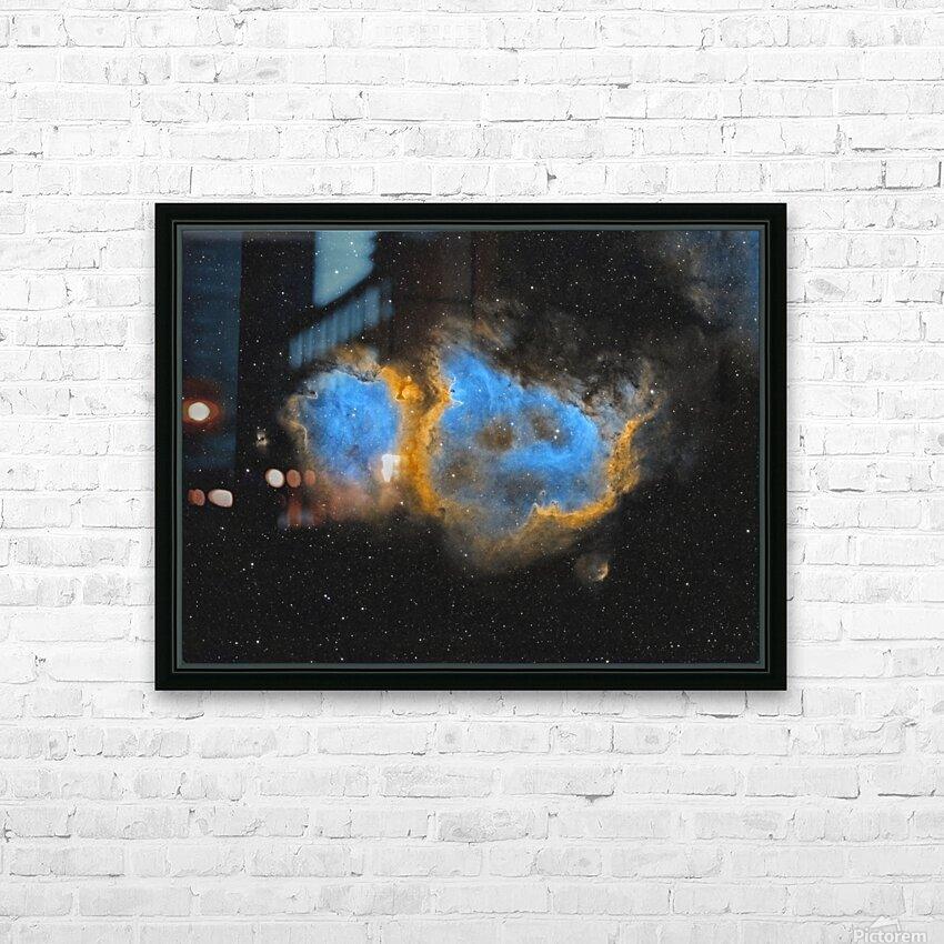 Soul Nebula HD Sublimation Metal print with Decorating Float Frame (BOX)