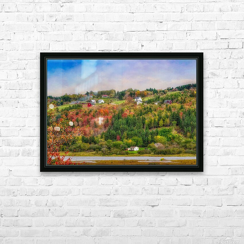 Arsenaults Hill HD Sublimation Metal print with Decorating Float Frame (BOX)