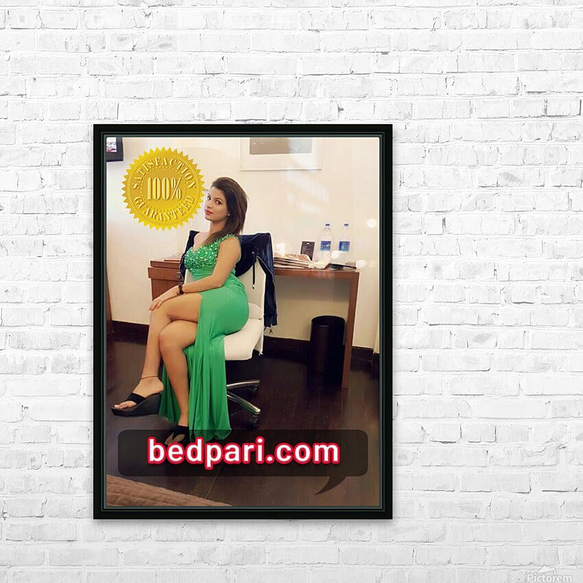 anjali 2 HD Sublimation Metal print with Decorating Float Frame (BOX)