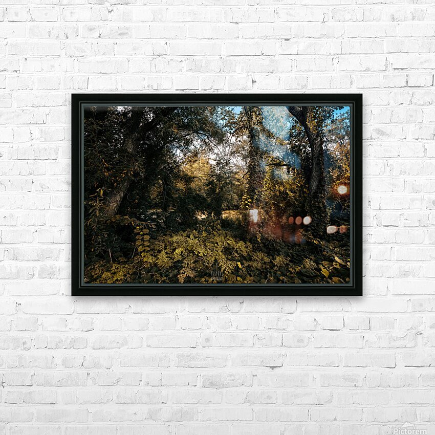Monet style 1 HD Sublimation Metal print with Decorating Float Frame (BOX)