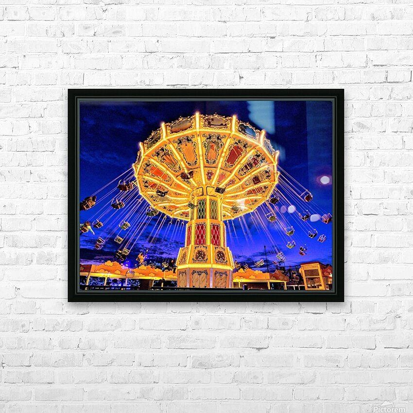 Carnival III HD Sublimation Metal print with Decorating Float Frame (BOX)