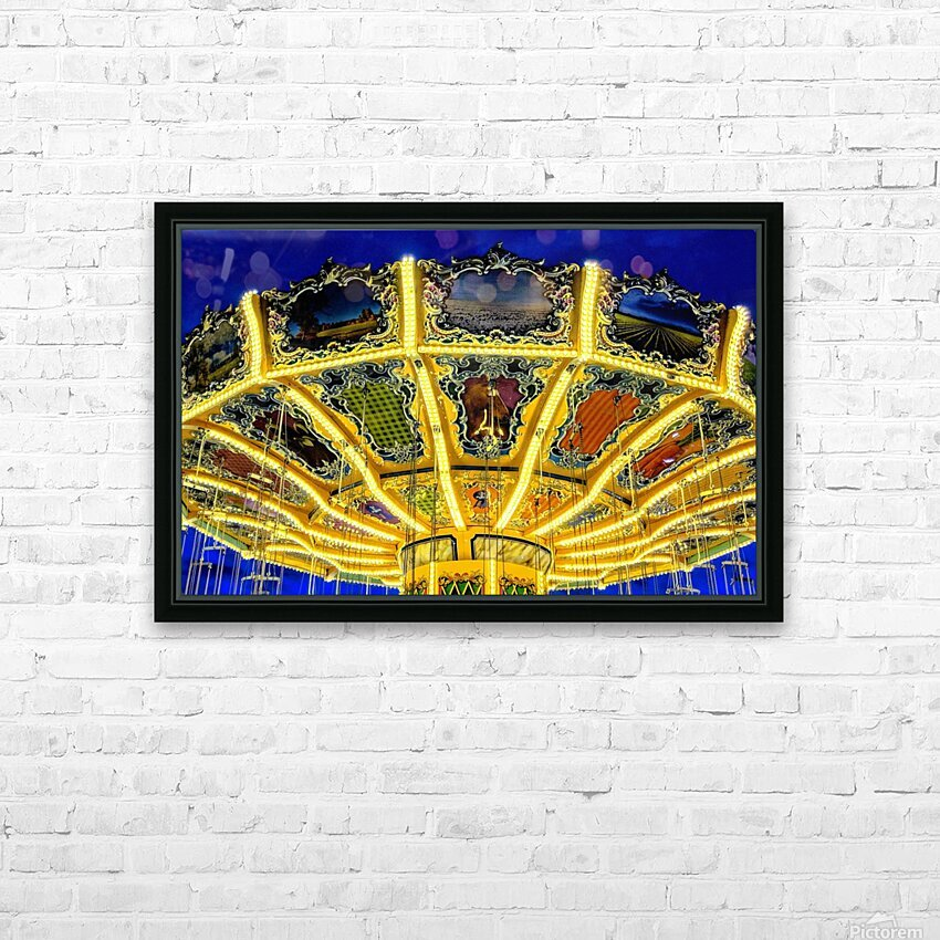 Carnival II HD Sublimation Metal print with Decorating Float Frame (BOX)