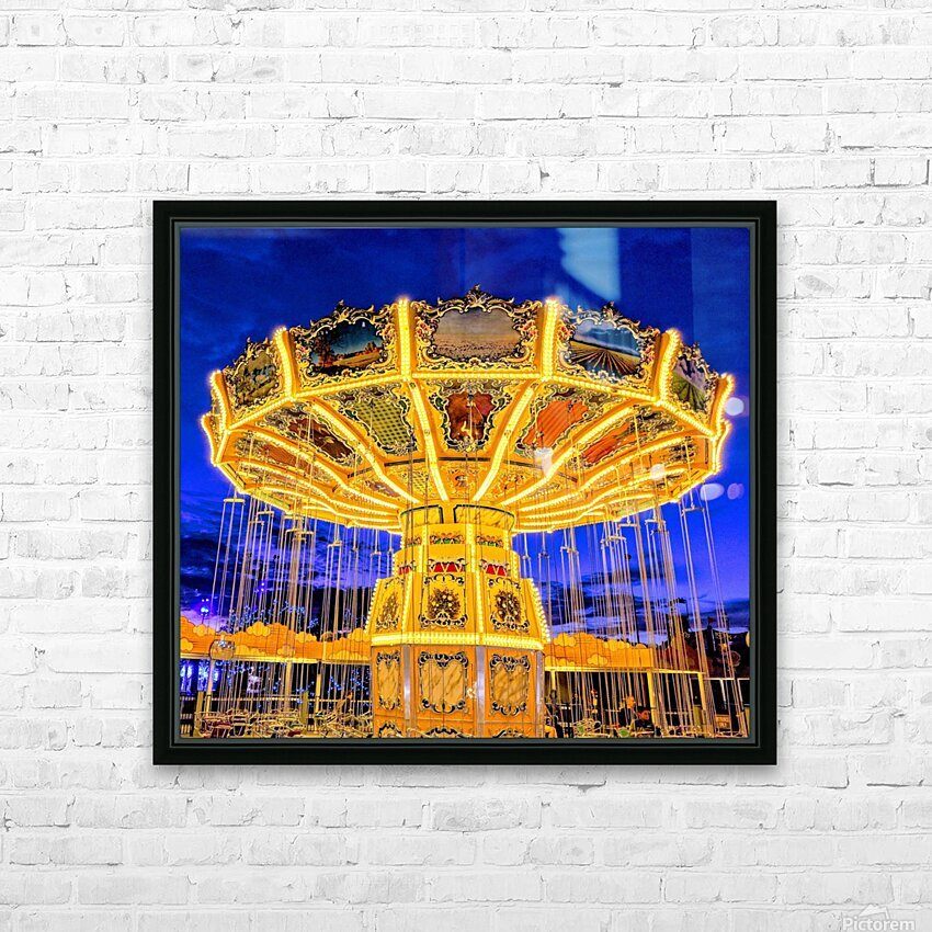 Carnival I HD Sublimation Metal print with Decorating Float Frame (BOX)