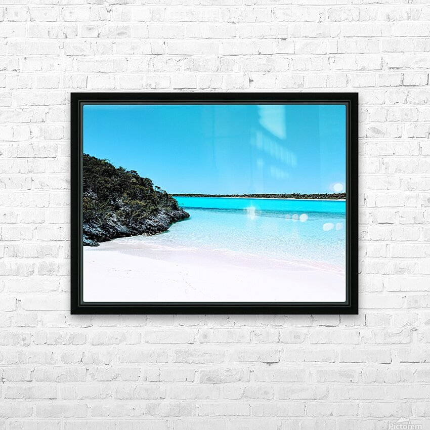 Uncharted Waters HD Sublimation Metal print with Decorating Float Frame (BOX)