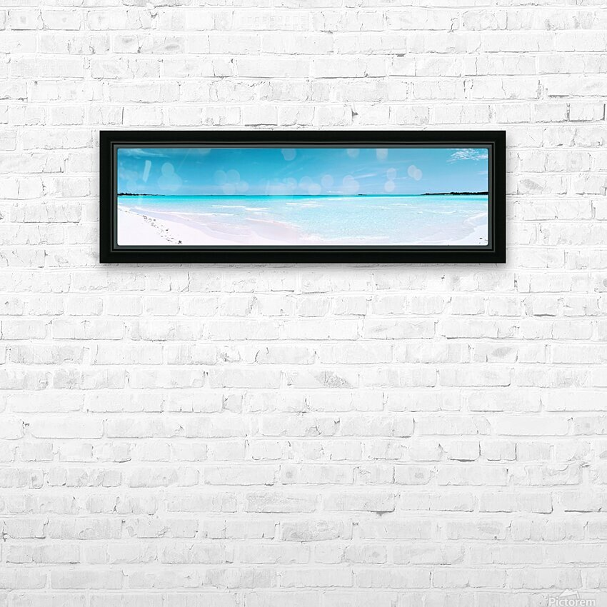 Paradise Found HD Sublimation Metal print with Decorating Float Frame (BOX)