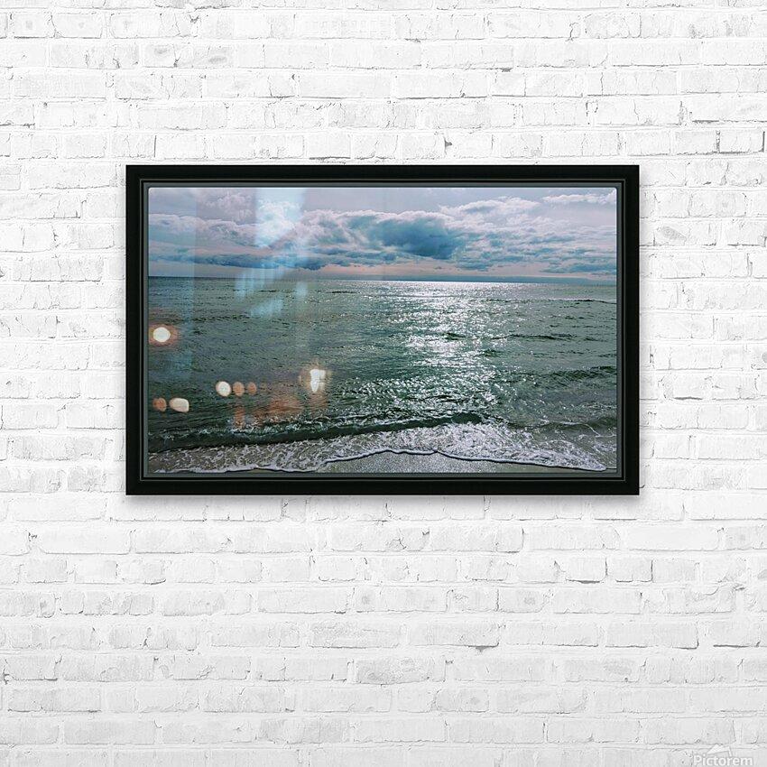 Serenity at Santa Rosa Beach HD Sublimation Metal print with Decorating Float Frame (BOX)