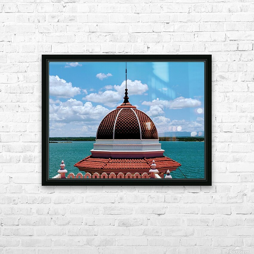 Cienfuegos IV HD Sublimation Metal print with Decorating Float Frame (BOX)