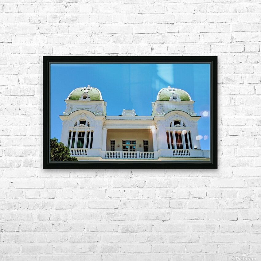 Cienfuegos I HD Sublimation Metal print with Decorating Float Frame (BOX)