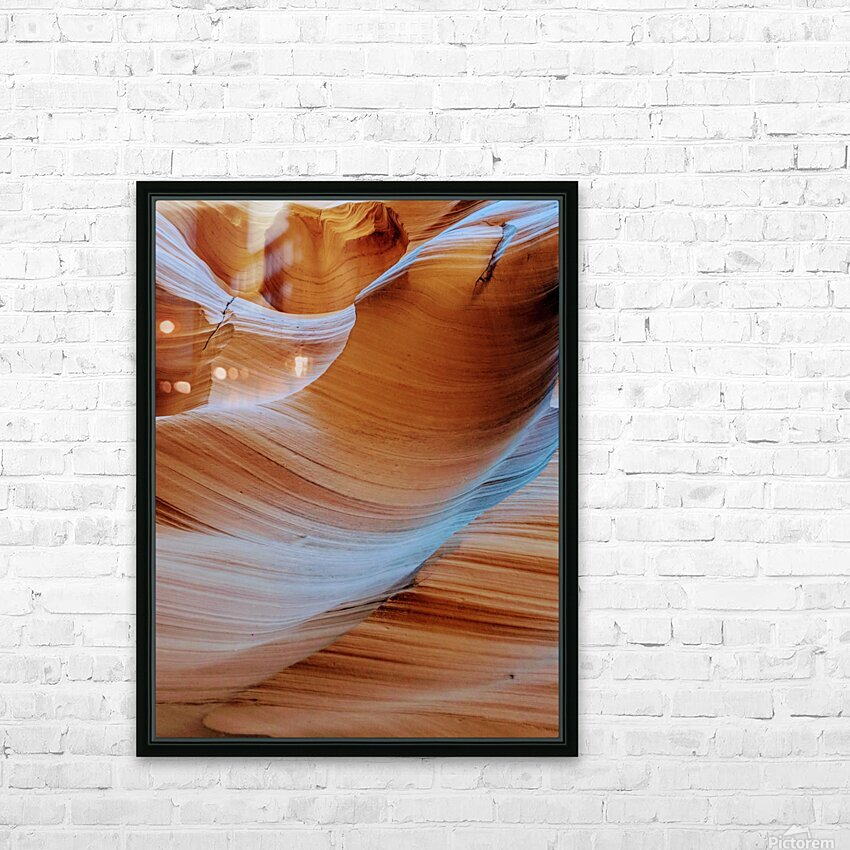Ebb and Flow HD Sublimation Metal print with Decorating Float Frame (BOX)