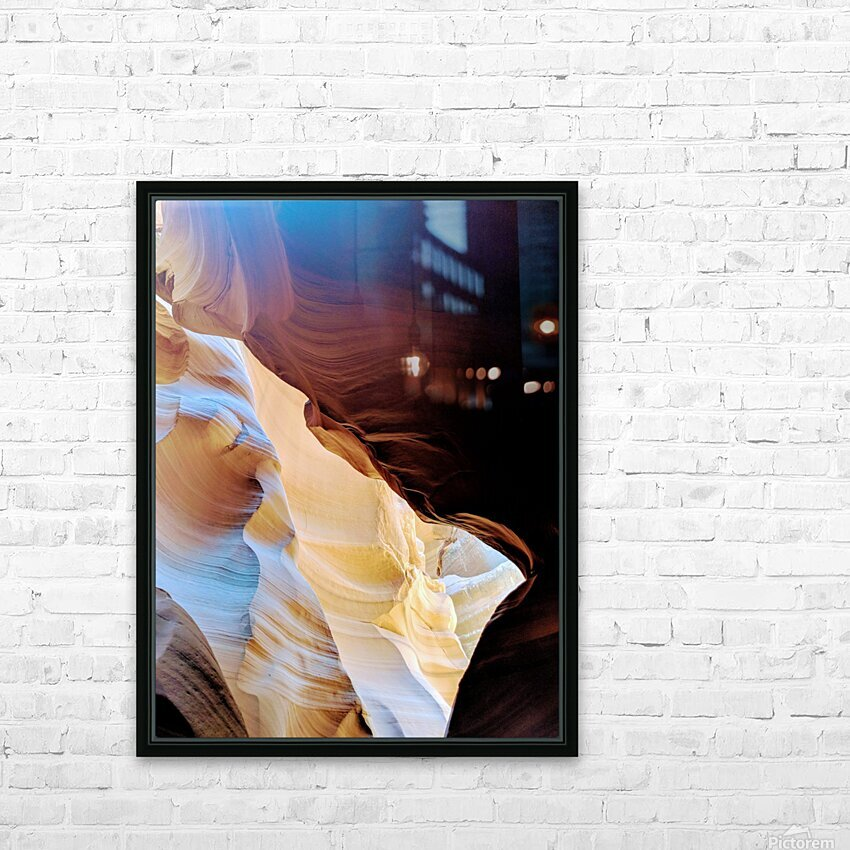 Sunkissed I HD Sublimation Metal print with Decorating Float Frame (BOX)