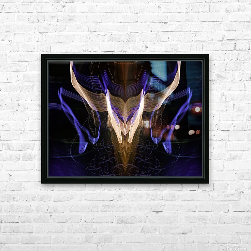 BULL FLUX HD Sublimation Metal print with Decorating Float Frame (BOX)