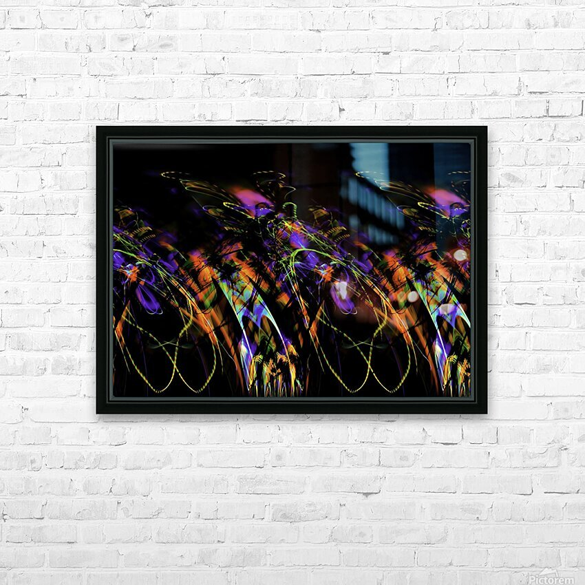 FLY FLUX HD Sublimation Metal print with Decorating Float Frame (BOX)