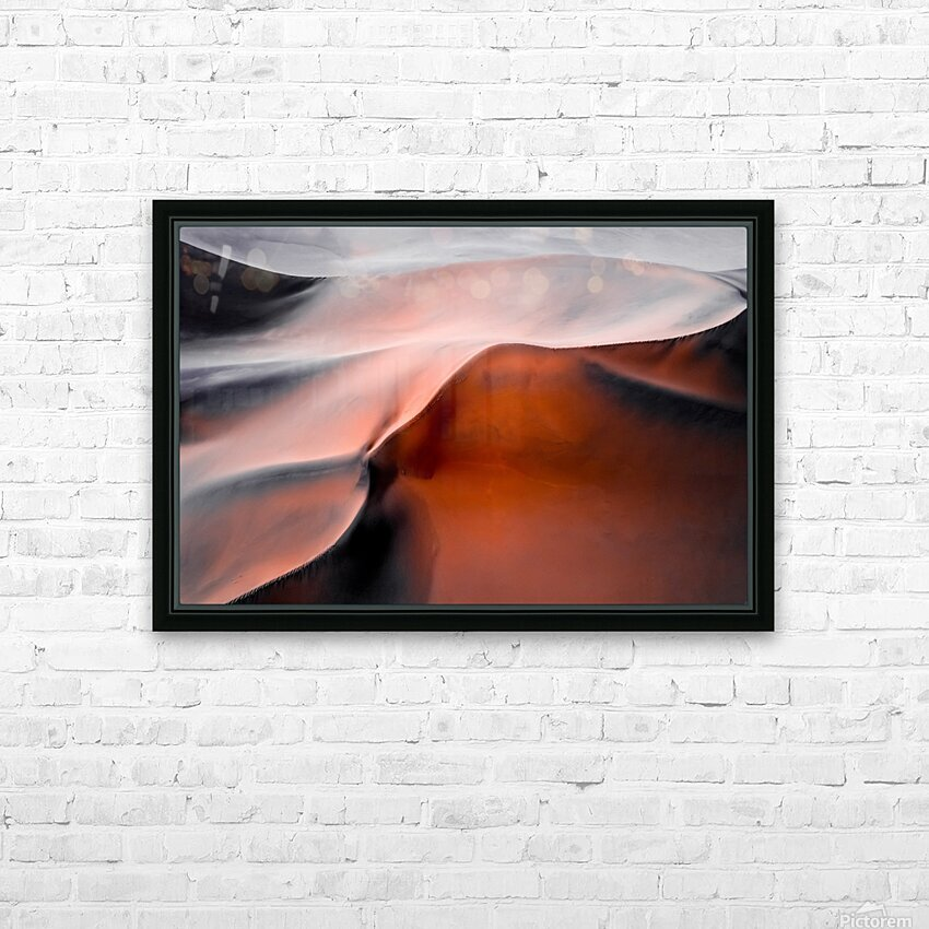 Sand hill HD Sublimation Metal print with Decorating Float Frame (BOX)
