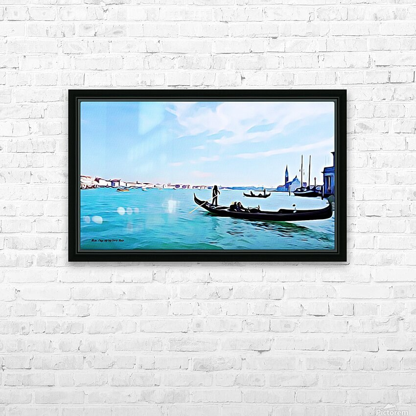 Venis p HD Sublimation Metal print with Decorating Float Frame (BOX)