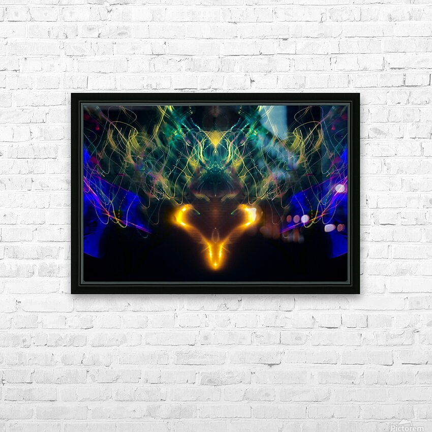 OWL MESSENGER HD Sublimation Metal print with Decorating Float Frame (BOX)