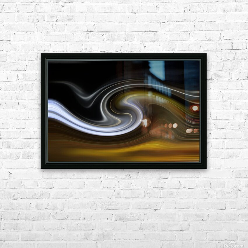 LAVAWAVE HD Sublimation Metal print with Decorating Float Frame (BOX)